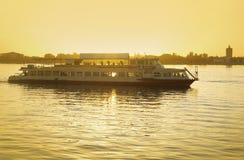 De Volga Rivier cater stock foto