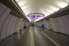 ` De Volkovskaya del ` de la estación de metro en St Petersburg Imagenes de archivo