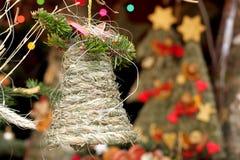 De volks klok van het Kerstmisgras Stock Foto
