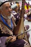 De volksmusicus van Maixirefu van Uighur Royalty-vrije Stock Foto