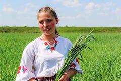 De volksrituelen brengen verbeteringen in het Gomel-gebied van de Republiek Wit-Rusland in 2015 op royalty-vrije stock foto's