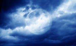 De volle maan royalty-vrije stock foto