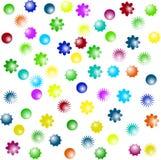 De volledige Achtergrond van Bloemen vector illustratie