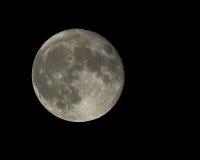 De volledige Maan van de Oogst Stock Afbeelding