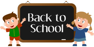 De volta à escola [1] Imagem de Stock