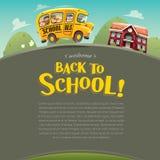 De volta à escola! Imagens de Stock Royalty Free
