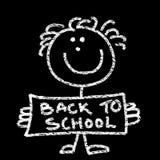 De volta à escola ilustração do vetor