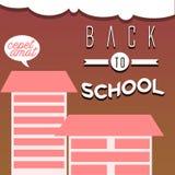 De volta à escola Imagens de Stock Royalty Free