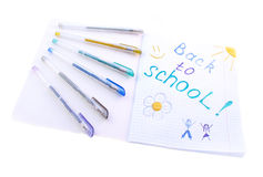 De volta à escola com divertimento! Foto de Stock Royalty Free