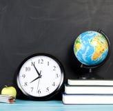 De volta à escola Conceito do fundo da educação com copyspace Fotografia de Stock