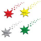 De volta à escola no meio da estrela Imagens de Stock