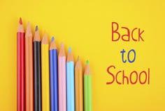 De volta à escola ou ao conceito da educação Imagem de Stock