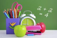 De volta à escola ou ao conceito da educação Fotos de Stock