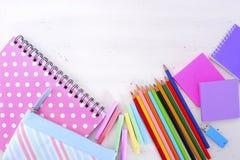 De volta à escola ou ao conceito da educação Foto de Stock Royalty Free