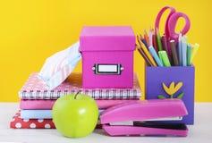 De volta à escola ou ao conceito da educação Fotografia de Stock