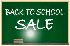 De volta à ilustração da venda da escola Imagem de Stock Royalty Free