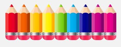 De volta à ilustração do vetor do conceito da escola Imagem de Stock