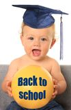 De volta ao bebê da escola foto de stock