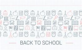 De volta ao conceito da escola Imagem de Stock Royalty Free