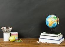 De volta ao conceito da escola para seu texto, projeto Fotografia de Stock Royalty Free