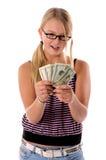 De volta ao dinheiro 1 da escola Fotos de Stock