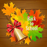 De volta ao fundo da escola (EPS+JPG) Imagens de Stock Royalty Free