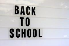 De volta ao quadro de avisos da escola com espaço da cópia Fotos de Stock Royalty Free