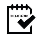 De volta a School2 Fotos de Stock