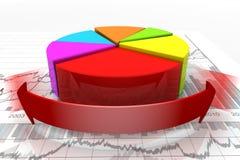 De voltooiing van de verhoging Stock Foto