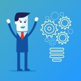 De voltooiing van Idee Bedrijfs illustratie stock illustratie