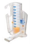 De volumetrische Spirometer van de Aansporing stock afbeeldingen