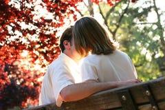 De vonk van de liefde Stock Fotografie