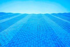 De voor bouw van glas het met panelen bekleden is een willekeurig mozaïekpatroon stock afbeelding
