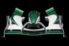 De voor Grand Prix van de Vleugel A1 Stock Afbeelding