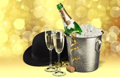De vooravond van het nieuwe jaar Royalty-vrije Stock Afbeeldingen