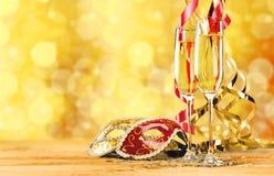 De vooravond van het nieuwe jaar Royalty-vrije Stock Foto's