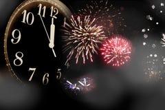 De vooravond van het nieuwe jaar royalty-vrije stock foto