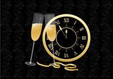 De vooravond van het nieuwjaar Royalty-vrije Stock Afbeeldingen