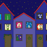 De vooravond van Kerstmis Royalty-vrije Stock Foto's