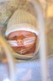 De voorbarige Jongen van de Baby stock foto