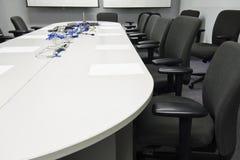 De voorbereiding van de conferentieruimte Stock Foto's