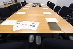 De voorbereiding van de conferentieruimte Royalty-vrije Stock Foto