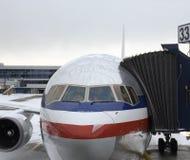 De voorbereiding van de vlucht Stock Foto