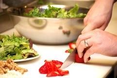 De Voorbereiding van het voedsel Royalty-vrije Stock Afbeelding