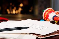 De voorbereidingen van Kerstmis royalty-vrije stock afbeelding