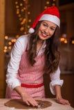 De voorbereidingen van Kerstmis stock fotografie