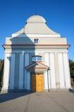 De voorgevel barokke kapel stock fotografie