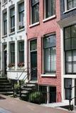 De voorgevel van Amsterdam Stock Fotografie