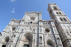De voorgevel van de Kathedraal Royalty-vrije Stock Foto
