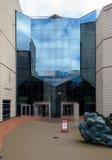 De Voorgevel van het oosten het Internationale Overeenkomstcentrum Birmingham royalty-vrije stock foto's